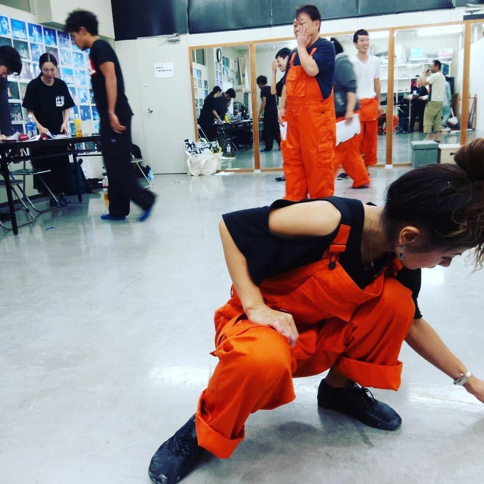 11/11 ABCホール 舞台『極楽トンボの終わらない明日』合同稽古2回目